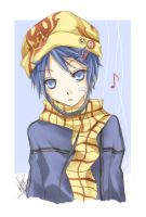 Blue and Yellow by Hellmaster05