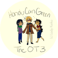 The OT3: HonduCanGreen by LKeiko