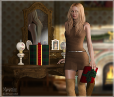 Cassie Dress by CaperGirl42