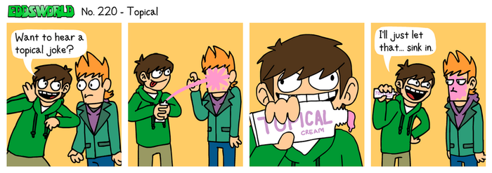 EWCOMIC No. 220 - Topical by eddsworld