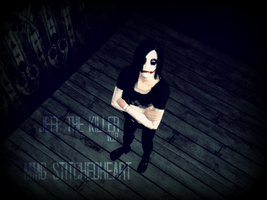 Jeff the Killer Sims 2 WIP by MMG-StitchedHeart