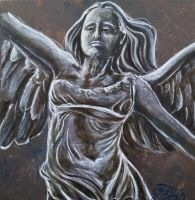 The Winged Victory of Samothrace by Gipsymoon