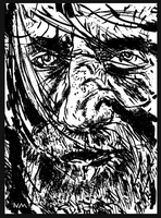CAPTAIN AHAB ( from MOBY DICK) by NCMALLORY