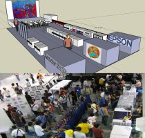 TF event floor layout by popazrael