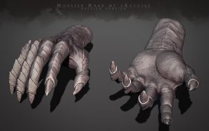 Monster Hand by eXecutex by eXecutex