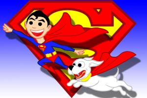 superboy n krypto special by AlanSchell