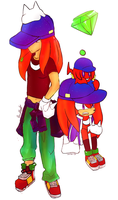 Stylish Knuckles Personas ! by deooART