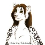 Brown Snow Leopard by DyingSilver