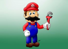 Mario Color by jpsimpson81