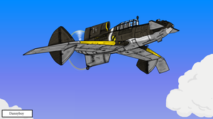 Greyhound Mk II Fighter by dan338