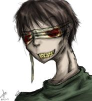 Blind Man Profile by psycho23
