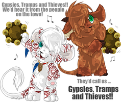 Gypsies, Tramps and Thieves by Daffupanda