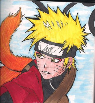 Sage Naruto by MidnightRocker2