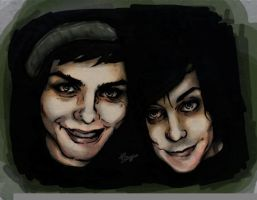 Frank and Gerard by Raygunwilldance4hugz