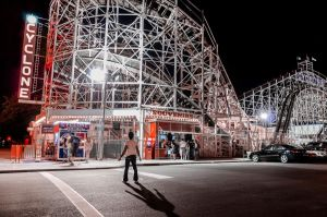 Coney Island Cyclone by Jonathan-Flash