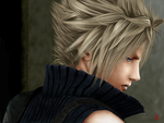 Cloud Strife by VangelDissonance