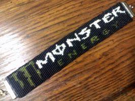 Monster Energy On The Wrist by theonlywhitewolf