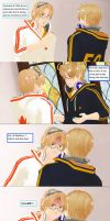APH Comic ~ Al's Staircase accident Page 1 by animeArtluvr469