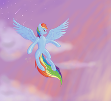 Rainbow Dash by SagebrushPony