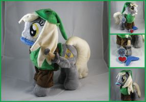 Derpy Link Plush by LiLMoon