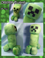 Creeper Plushie by Meip