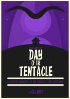Day of the Tentacle Poster by W0op-W0op