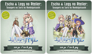 Escha and Logy no Atelier - Anime Icon by Darklephise