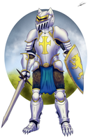 Gautier the Knight by paladin095