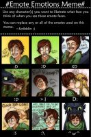 HTTYD - Emote Emotions Meme by MidoriEyes