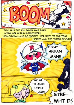PPG + ANPANMAN    Secret of Rollpanna Birth 2 by Yang-Mei