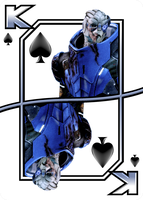 Garrus - King Of Spades by NoAng3l