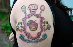Baking Crest Tattoo by XenOhm