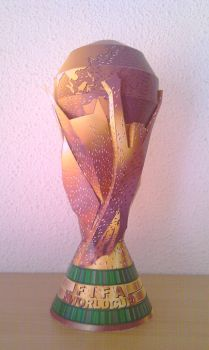 FIFA World Cup Trophy by Destro2k
