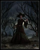 Esme - The Witch by celticarchie