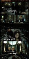 Oakencrossover #9: Harry Potter and the Deathly.. by PeckishOwl