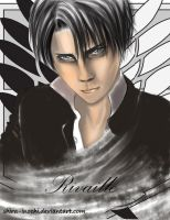 Rivaille by Shira-inochi