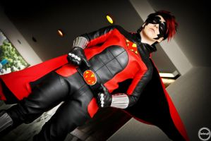 Red Mist Cosplay by EmperorSteele92