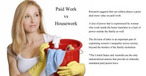 Labor in the Home - Paid Work v. Housework by Nayias01