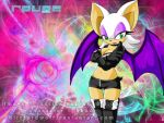 Another bright Rouge wallpaper by BlizzardWolf