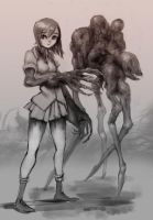 Creepy gore golem loli Request by GeniusFetus