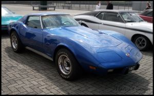 1974 Corvettte Stingray by compaan-art