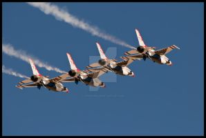 09 Nellis Thunderbirds 4 by AirshowDave