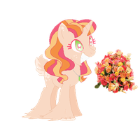 Bouquet Themed Pony Adopt 1 by Cashmere-Cuddles