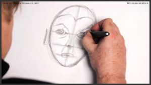 How to Draw a Woman's Face 012 by drawingcourse