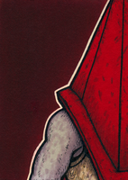 Pyramid Head - Personal Space by Yamallow