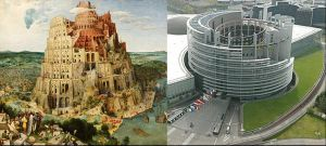 European Union Parliament 03 (Tower of Babel) by NixSeraph