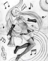 Miku and Music by Chain34