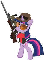 Twilight Sniper (Vector) by TheAljavis