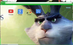 Bunny Chrome Theme (Download in Description) by Tespeon