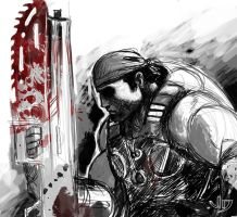 DSC - Marcus Fenix by arsenalgearxx